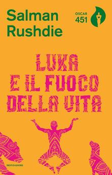 Luka e il fuoco della vita - Salman Rushdie - copertina
