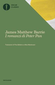 I romanzi di Peter Pan: Peter e Wendy-Peter Pan nei giardini di Kensington - James Matthew Barrie - copertina
