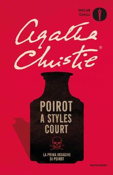 Poirot a Styles Court - Agatha Christie - copertina
