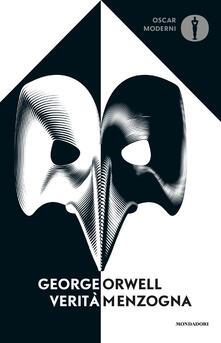 Verità/menzogna - George Orwell - copertina