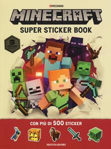 Minecraft Mojang. Super sticker book. Con adesivi - Craig Jelley,Stephanie Milton - copertina