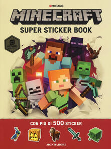 Birrafraitrulli.it Minecraft Mojang. Super sticker book. Con adesivi Image