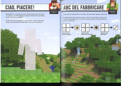 Minecraft Mojang. Super sticker book. Con adesivi - Craig Jelley,Stephanie Milton - 2