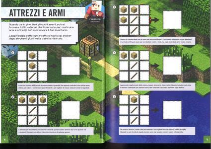 Minecraft Mojang. Super sticker book. Con adesivi - Craig Jelley,Stephanie Milton - 3
