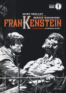 Frankenstein - Mary Shelley - copertina