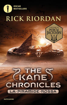 La piramide rossa. The Kane Chronicles. Vol. 1 - Rick Riordan - copertina