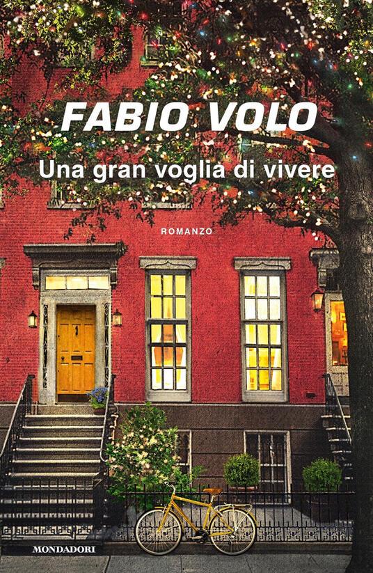 Una gran voglia di vivere - Fabio Volo - copertina