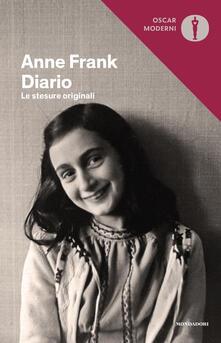 Diario. Le stesure originali - Anne Frank - copertina