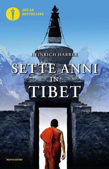 Sette anni in Tibet - Heinrich Harrer - copertina