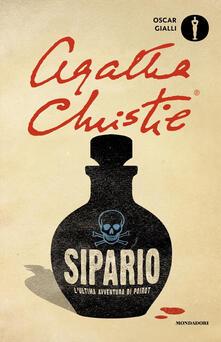 Sipario, l'ultima avventura di Poirot - Agatha Christie - copertina