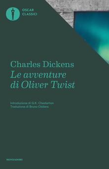 Le avventure di Oliver Twist - Charles Dickens - copertina
