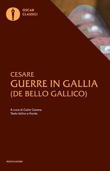 Parcoarenas.it Le guerre in Gallia. Testo latino a fronte Image