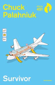 Survivor - Chuck Palahniuk - copertina