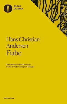 Fiabe - Hans Christian Andersen - copertina