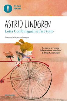 Lotta Combinaguai sa fare tutto - Astrid Lindgren - copertina