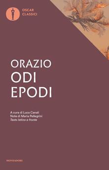 Odi. Epodi. Testo latino a fronte - Quinto Orazio Flacco - copertina