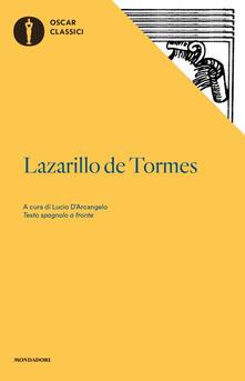 Lazarillo de Tormes. Testo spagnolo a fronte - Anonimo - copertina