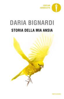 Storia della mia ansia - Daria Bignardi - copertina