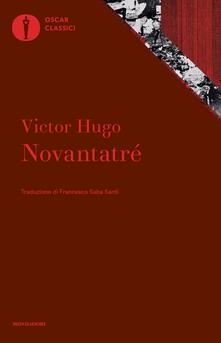 Novantatré - Victor Hugo - copertina