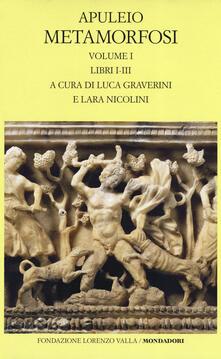Recuperandoiltempo.it Metamorfosi. Testo latino a fronte. Ediz. critica. Vol. 1: Libri I-III. Image