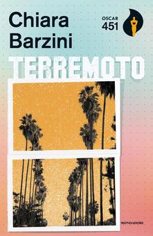 Terremoto - Chiara Barzini - copertina