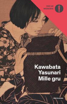 Mille gru - Yasunari Kawabata - copertina