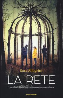 La rete - Sara Allegrini - copertina