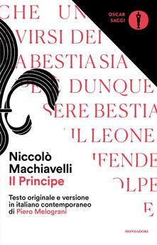 Ristorantezintonio.it Il principe. Testo originale e versione in italiano contemporaneo Image