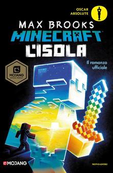 L' isola. Minecraft - Max Brooks - copertina