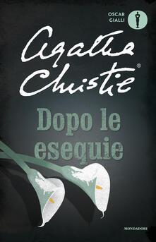 Dopo le esequie - Agatha Christie - copertina