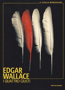 I quattro giusti - Edgar Wallace - copertina
