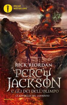 Nicocaradonna.it La battaglia del labirinto. Percy Jackson e gli dei dell'Olimpo. Vol. 4 Image
