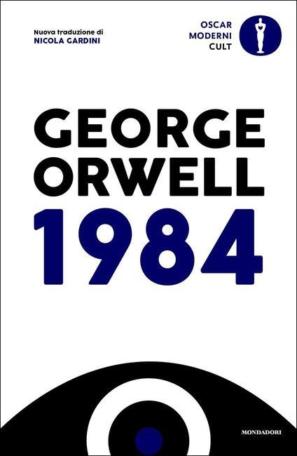 1984 - George Orwell - copertina