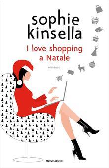 I love shopping a Natale - Sophie Kinsella - copertina