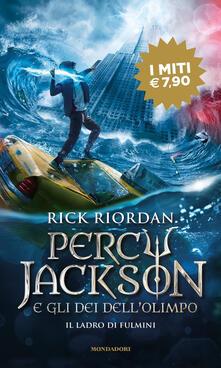 Radiosenisenews.it Il ladro di fulmini. Percy Jackson e gli dei dell'Olimpo. Vol. 1 Image