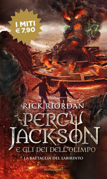 Librisulladiversita.it La battaglia del labirinto. Percy Jackson e gli dei dell'Olimpo. Vol. 4 Image