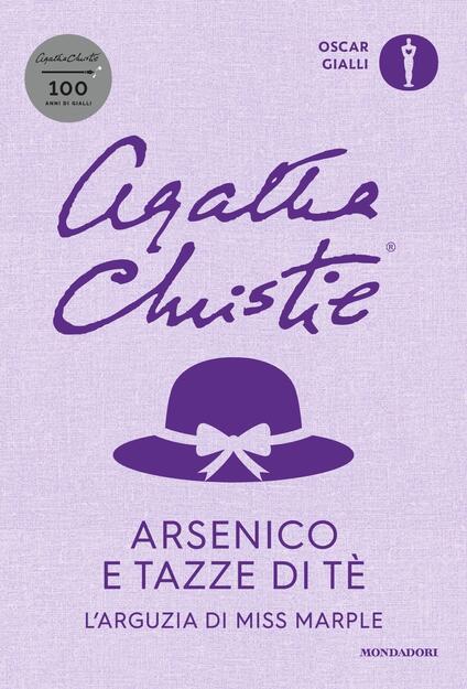 Arsenico e tazze di tè. L'arguzia di Miss Marple - Agatha Christie - copertina