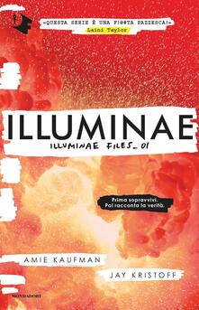 Illuminae. Illuminae file. Vol. 1 - Amie Kaufman,Jay Kristoff - copertina