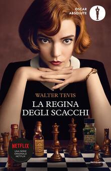La regina degli scacchi - Walter Tevis - copertina