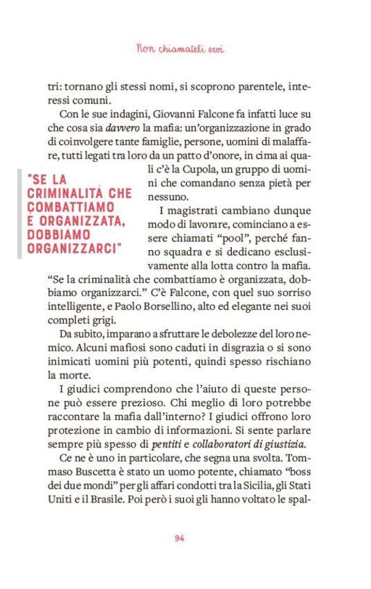 Non chiamateli eroi. Falcone, Borsellino e altre storie di lotta alle mafie - Nicola Gratteri,Antonio Nicaso - 9