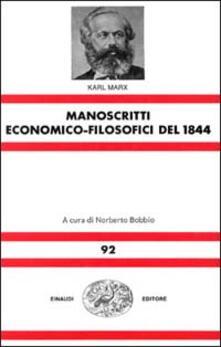 Milanospringparade.it Manoscritti economico-filosofici del 1844 Image