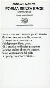 Foto Cover di Poema senza eroe, Libro di Anna Achmatova, edito da Einaudi