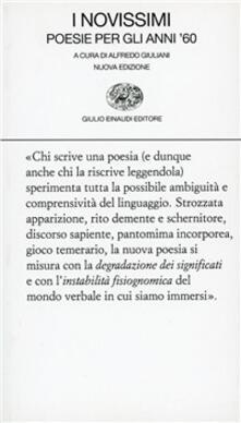 Fondazionesergioperlamusica.it I novissimi. Poesie per gli anni Sessanta Image
