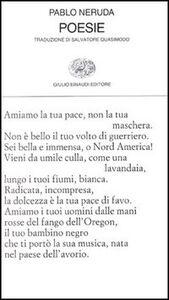 Libro Poesie Pablo Neruda