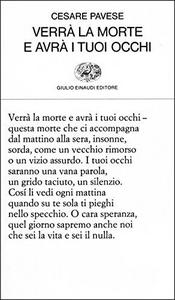 Libro Verrà la morte e avrà i tuoi occhi Cesare Pavese