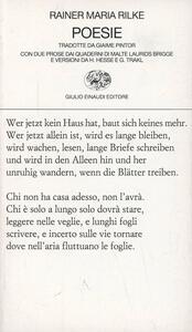 Poesie - Rainer Maria Rilke - copertina