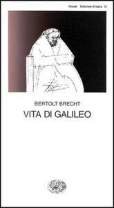 Vita di Galileo - Bertolt Brecht - copertina