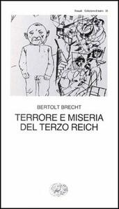 Terrore e miseria del Terzo Reich - Bertolt Brecht - copertina