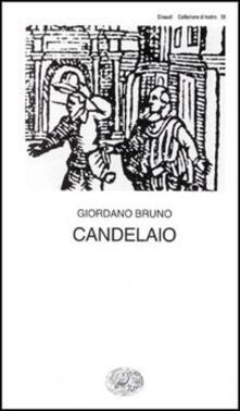 Il candelaio - Giordano Bruno - copertina