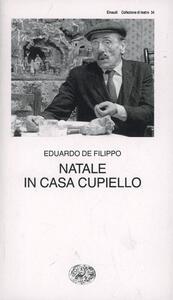 Natale in casa Cupiello - Eduardo De Filippo - copertina